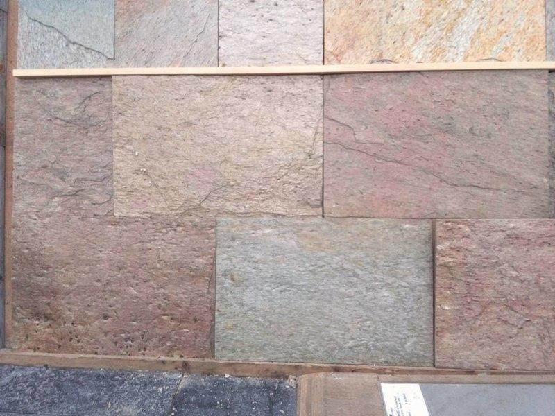 258 m2 Kwartsiet multicolor 40x60x1,2cm