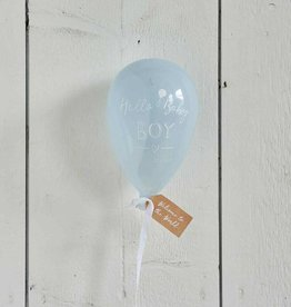 Riviera Maison Hello Baby Boy Balloon