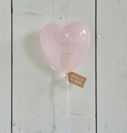 Riviera Maison Hello Baby Girl Balloon