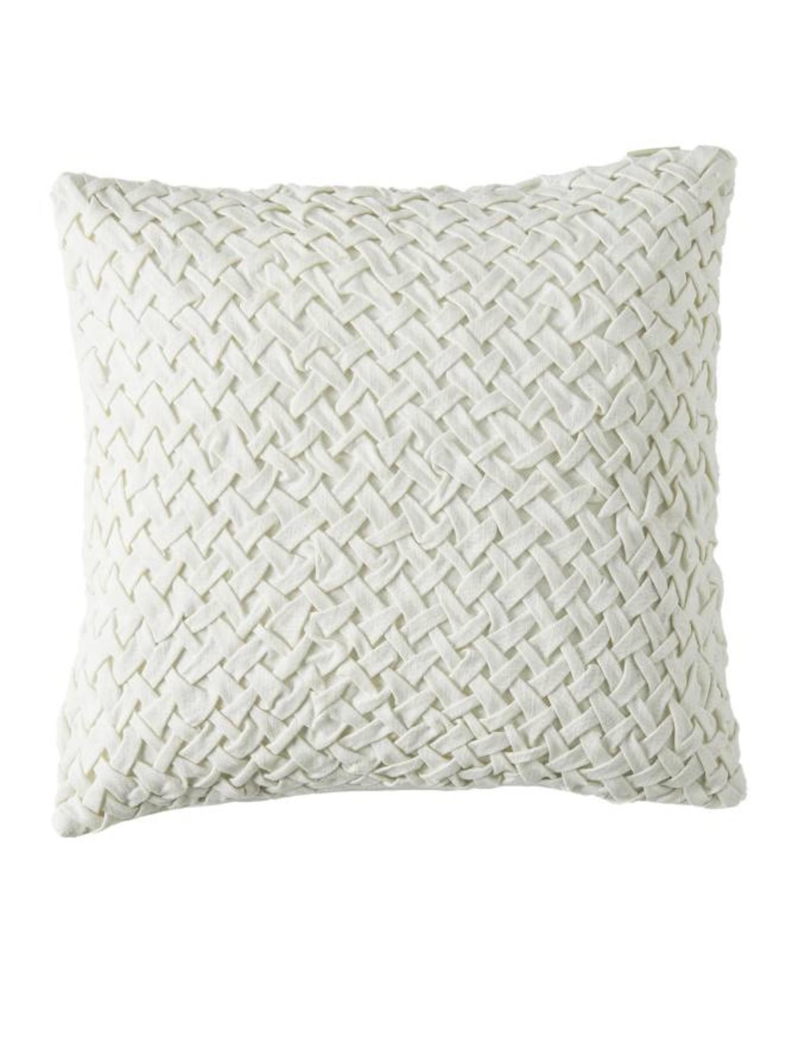 Riviera Maison Whimsical Weave P.C. white 50x50