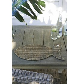 Riviera Maison Rustic Rattan catch of the day Placemat