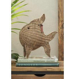 Riviera Maison Rustic Rattan Tropical Fish Large