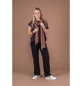 Zusss Fijngebreide  Lange Sjaal