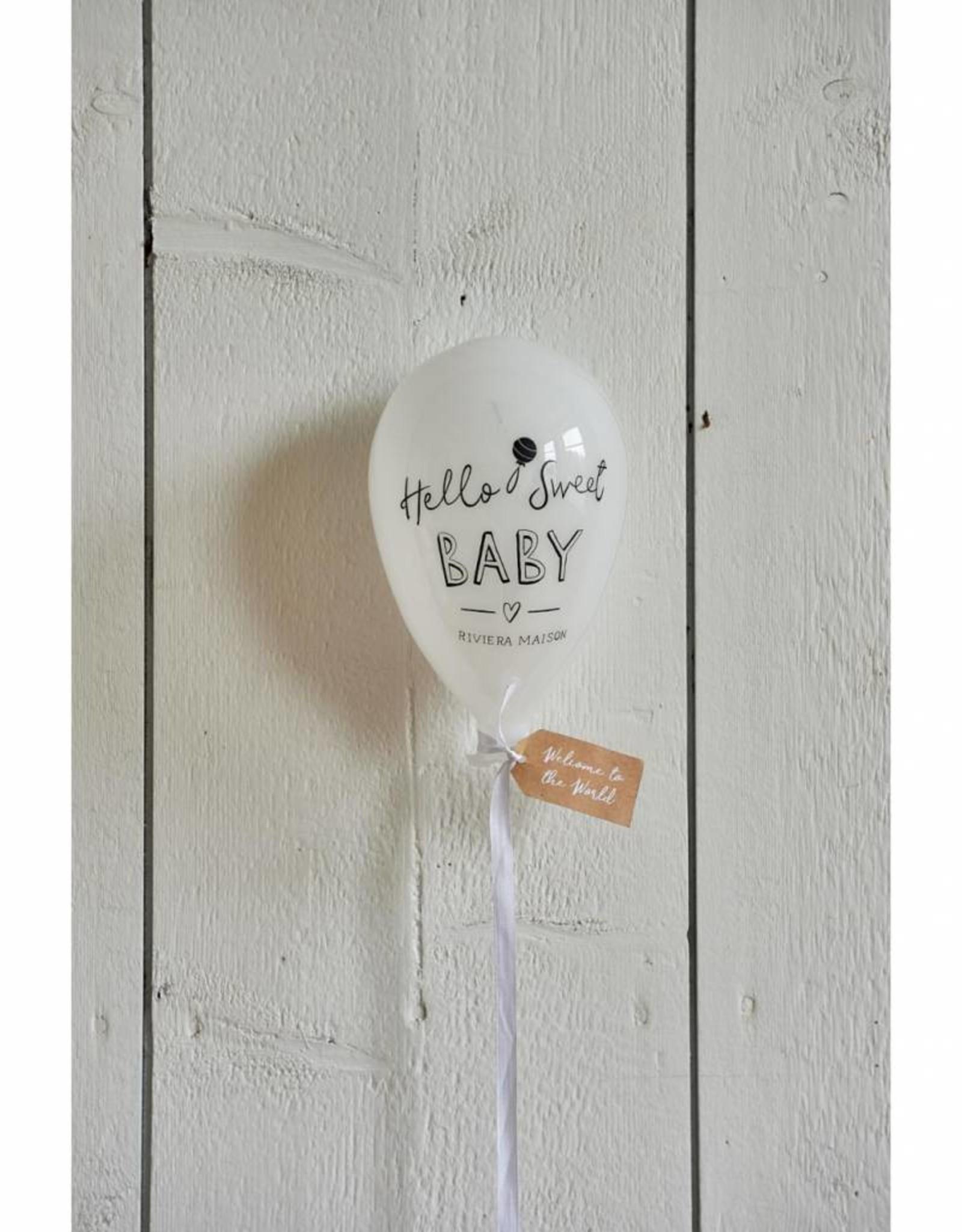 Riviera Maison Hello Sweet Baby Balloon
