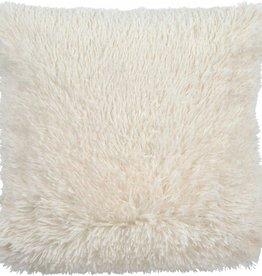 Fluffy 45 x 45 cm Ivoor