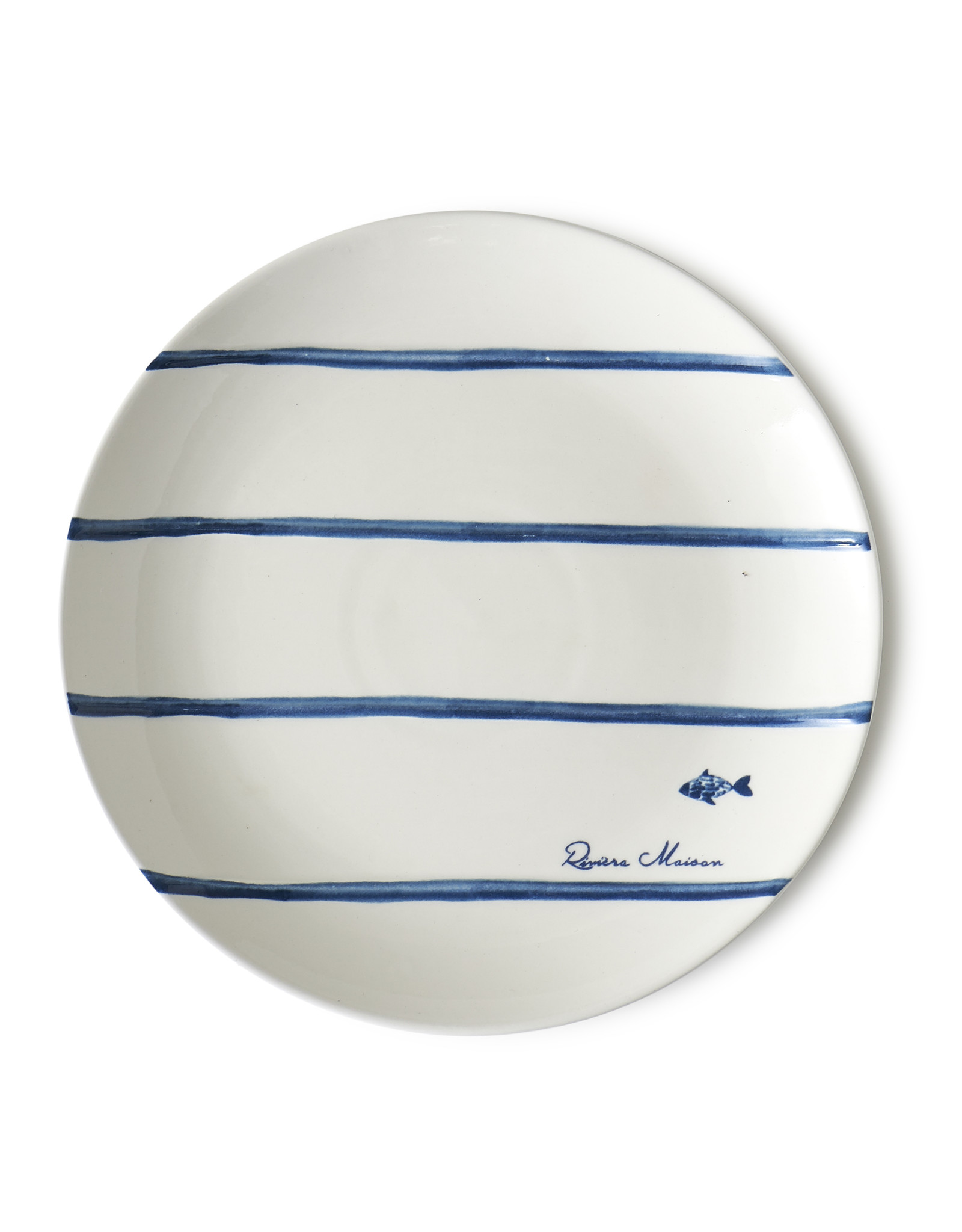 Riviera Maison Catch of the day stripe plate