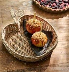 Riviera Maison Rustic Rattan Apple Serving tray