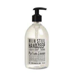 Mijn stijl Handzeep parfum linnen 500ml