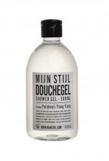 Mijn stijl Douchegel parfum Patchouli- Ylang- Ylang 500ml wit/z