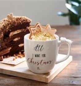 Riviera Maison Merry Christmas Bow Mug
