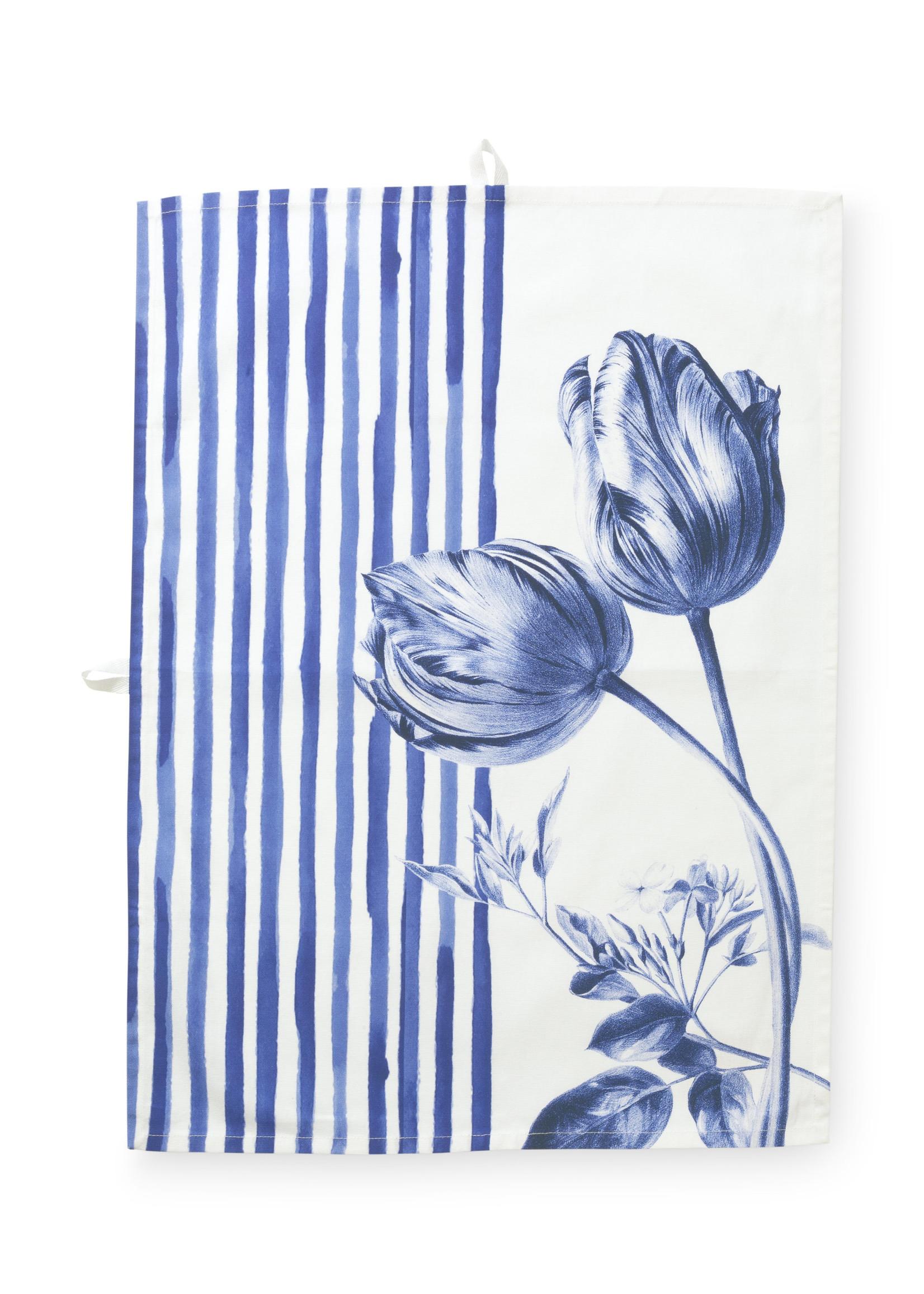 Janny van der Heijden Tea Towel Tulip Stripes 50x70cm