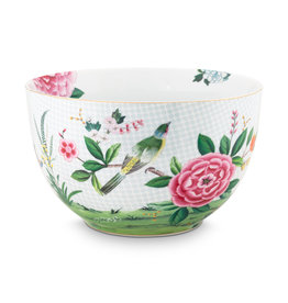 pip studio Bowl Blushing Birds white 23cm