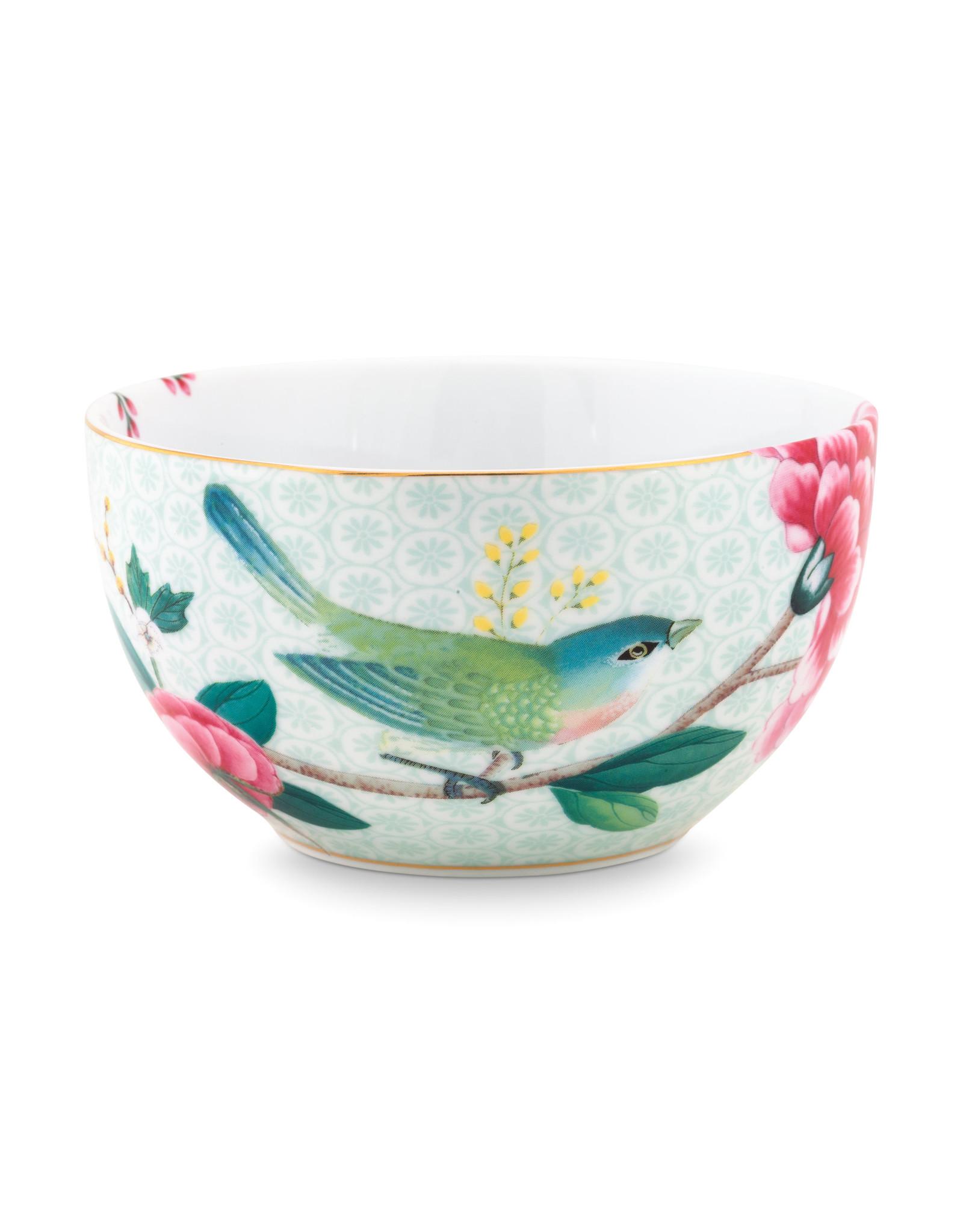 Janny van der Heijden Bowl Blushing birds white 12cm