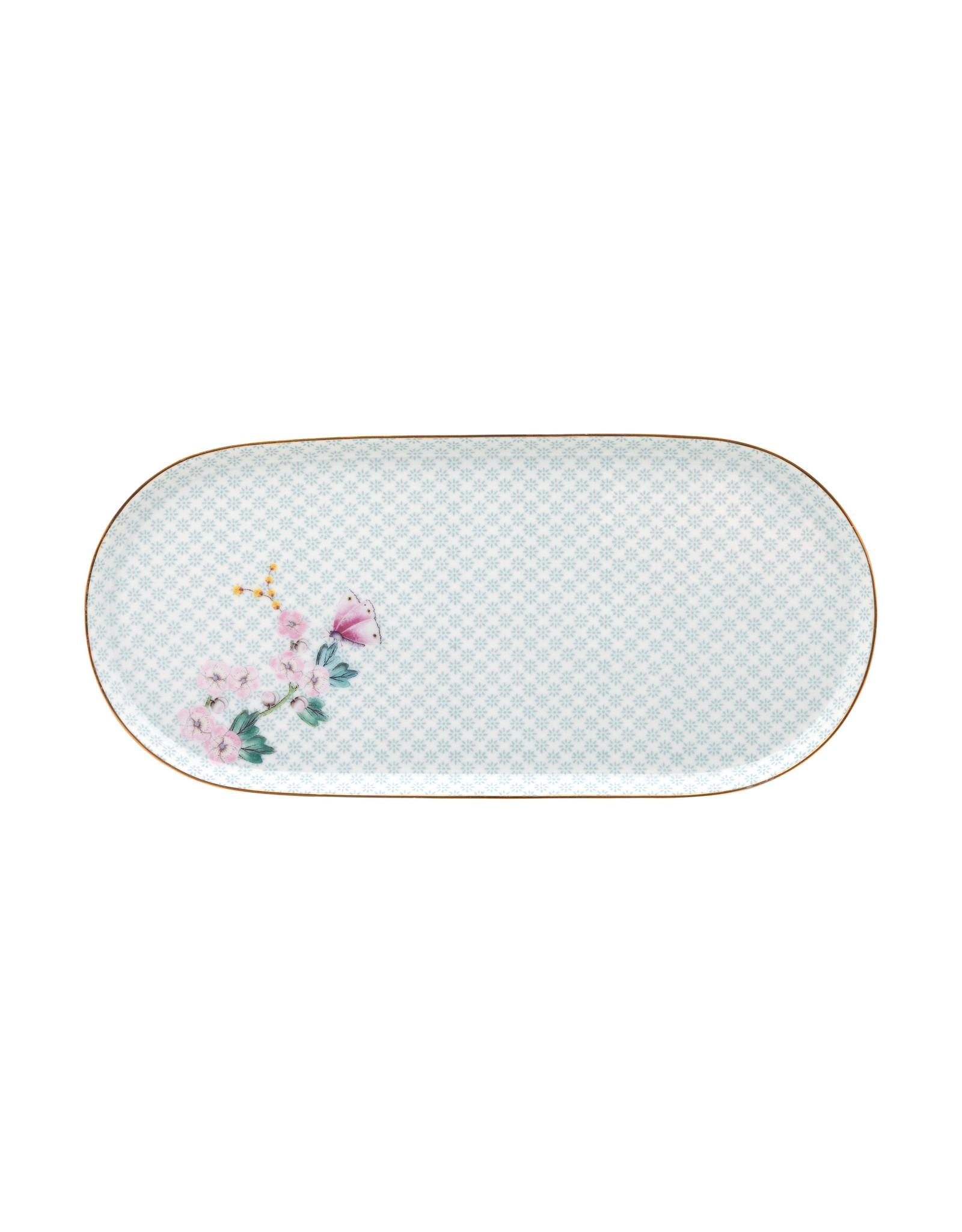 pip studio Plate Suger & Creamer Kamini White 25x12cm