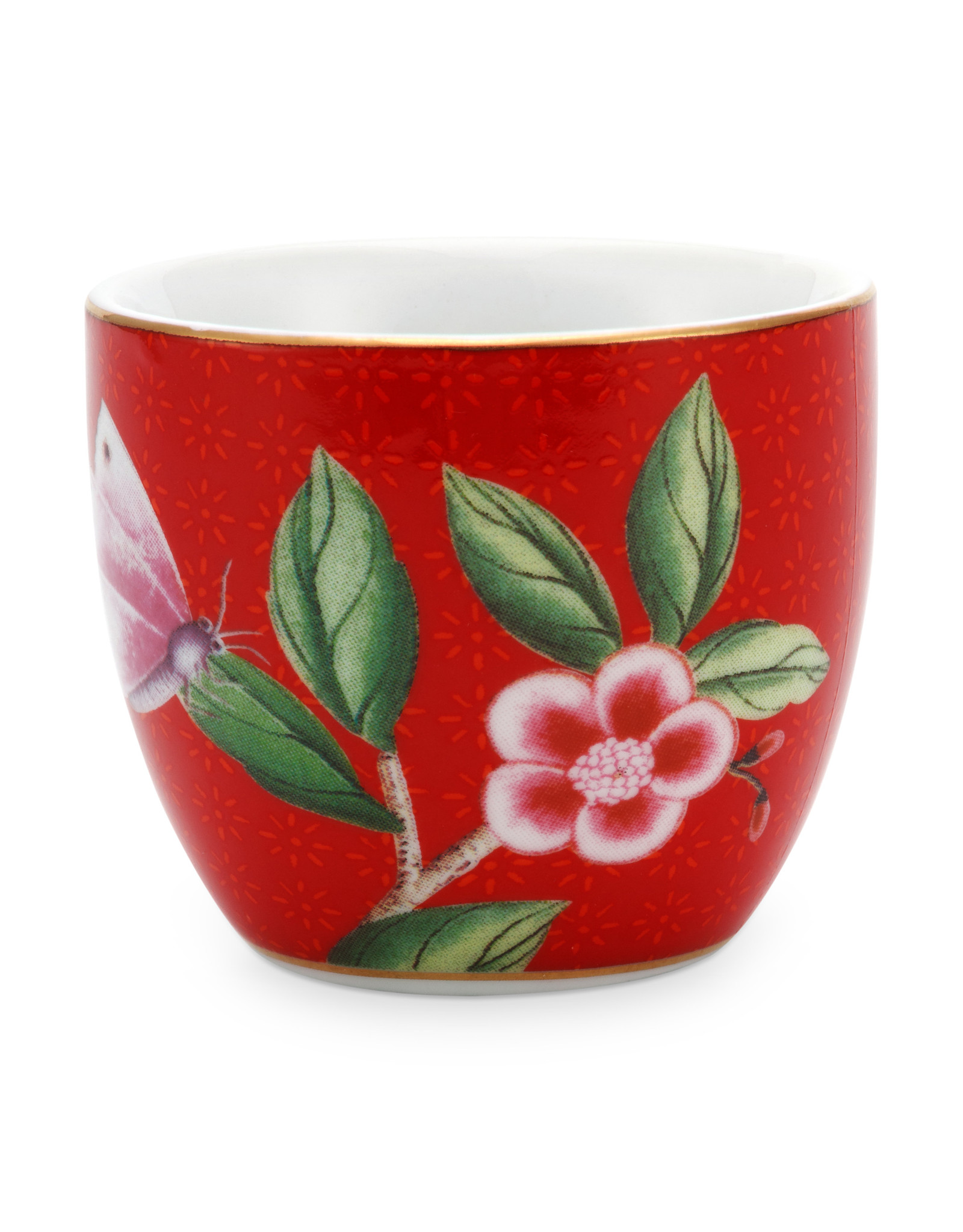 pip studio Egg Cup Blushing Birds Red