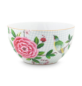 pip studio Bowl Blushing Birds White 15cm