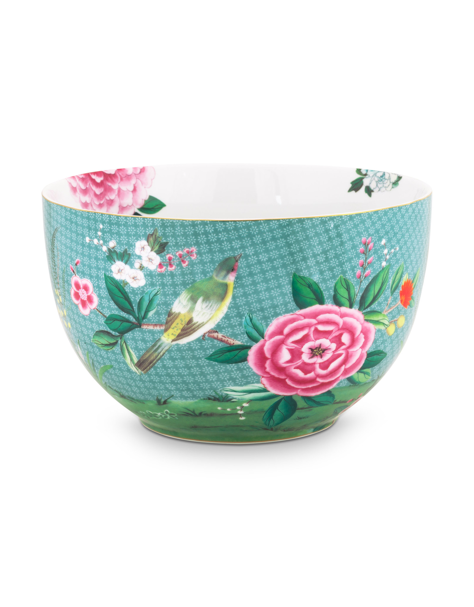 pip studio Bowl Blushing Birds Blue 23cm