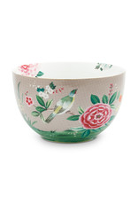 pip studio Bowl Blushing Birds Khaki 23cm