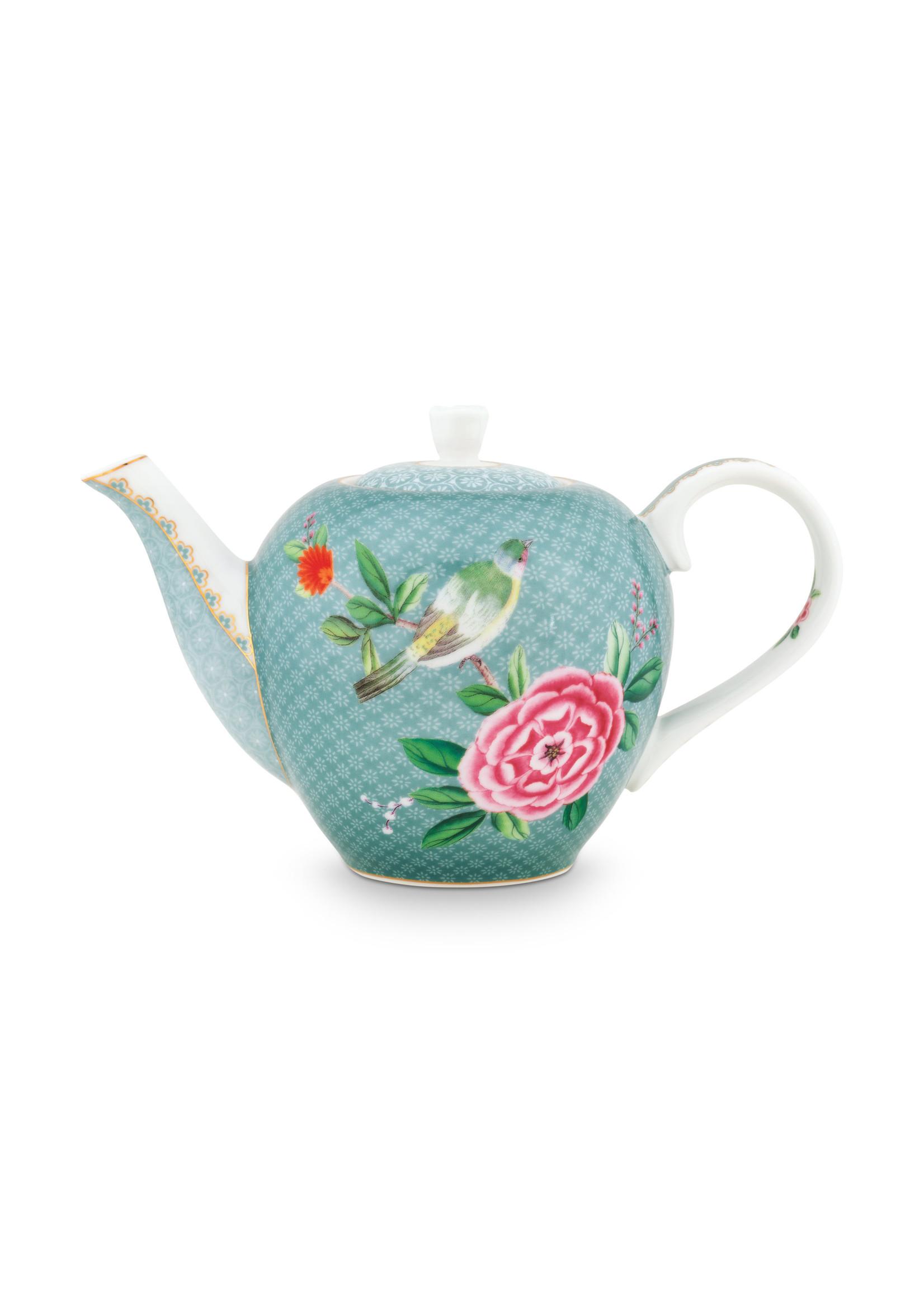 pip studio Tea Pot Small Blushing Birds Blue 750ml