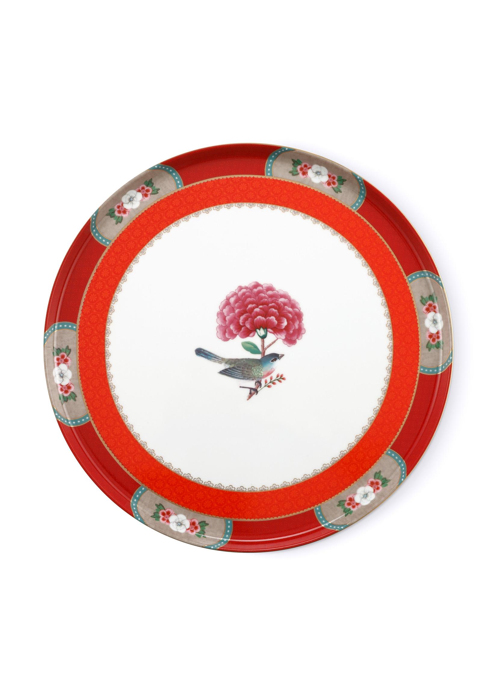 pip studio Cake Tray Blushing Birds Red 30.5cm