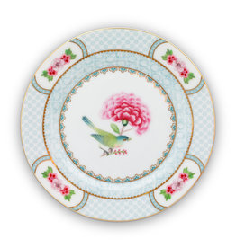 pip studio Plate Blushing Birds White 17cm