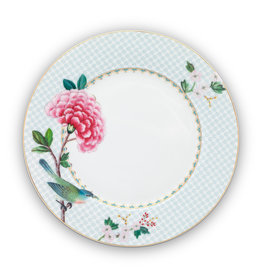 pip studio Plate Blushing Birds White 21cm