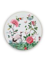 pip studio Plate blushing birds white 32 cm