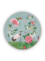 pip studio Plate blushing birds blue 32 cm