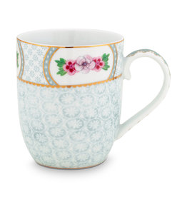 pip studio Mug small Blushing Birds white 145 ml
