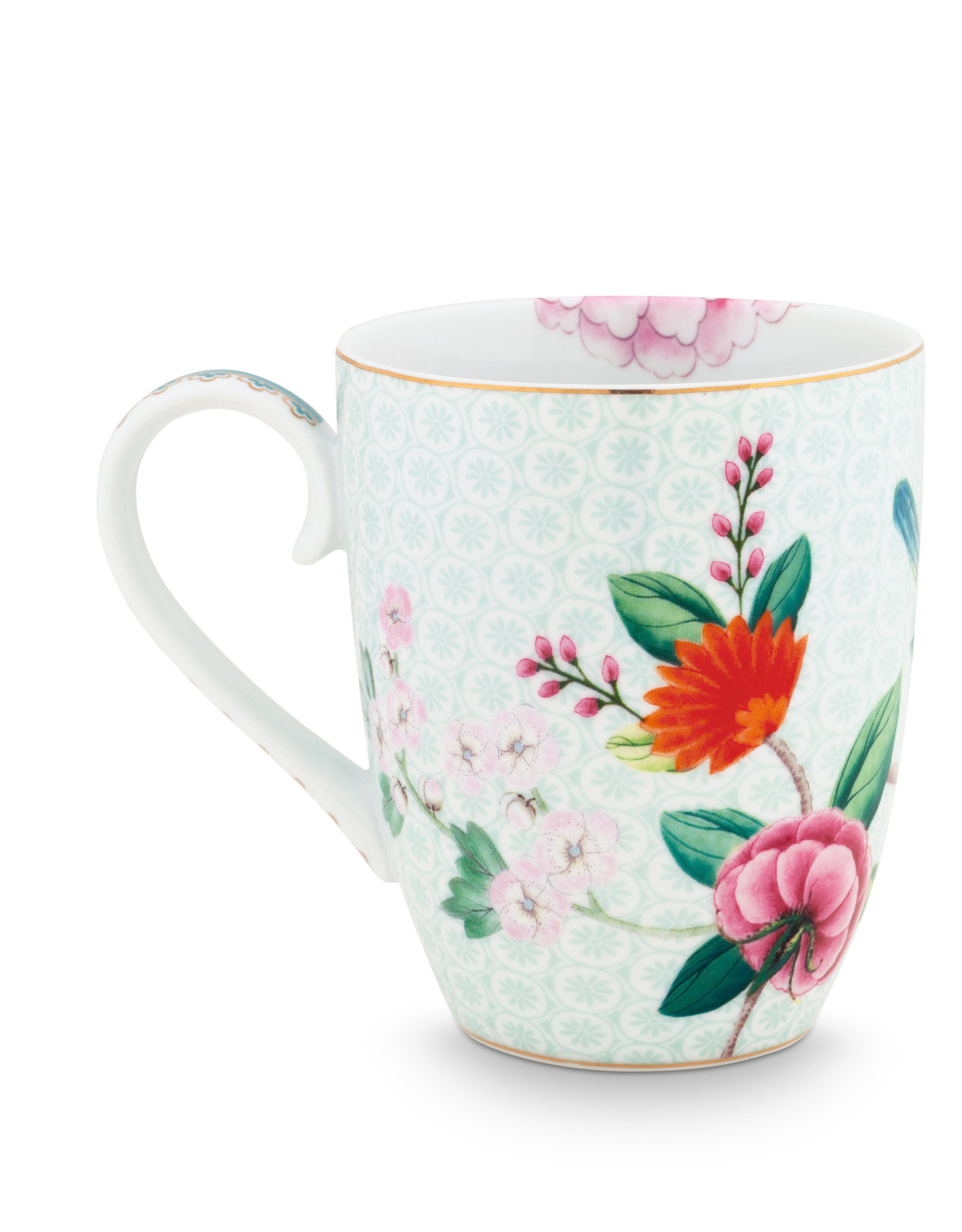 pip studio mug Large Blushing birds white 350ml