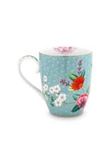 pip studio Mug Large Blushing birds blue 350ml