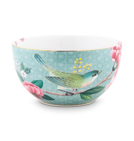 pip studio Bowl Blushing birds Blue 12 cm