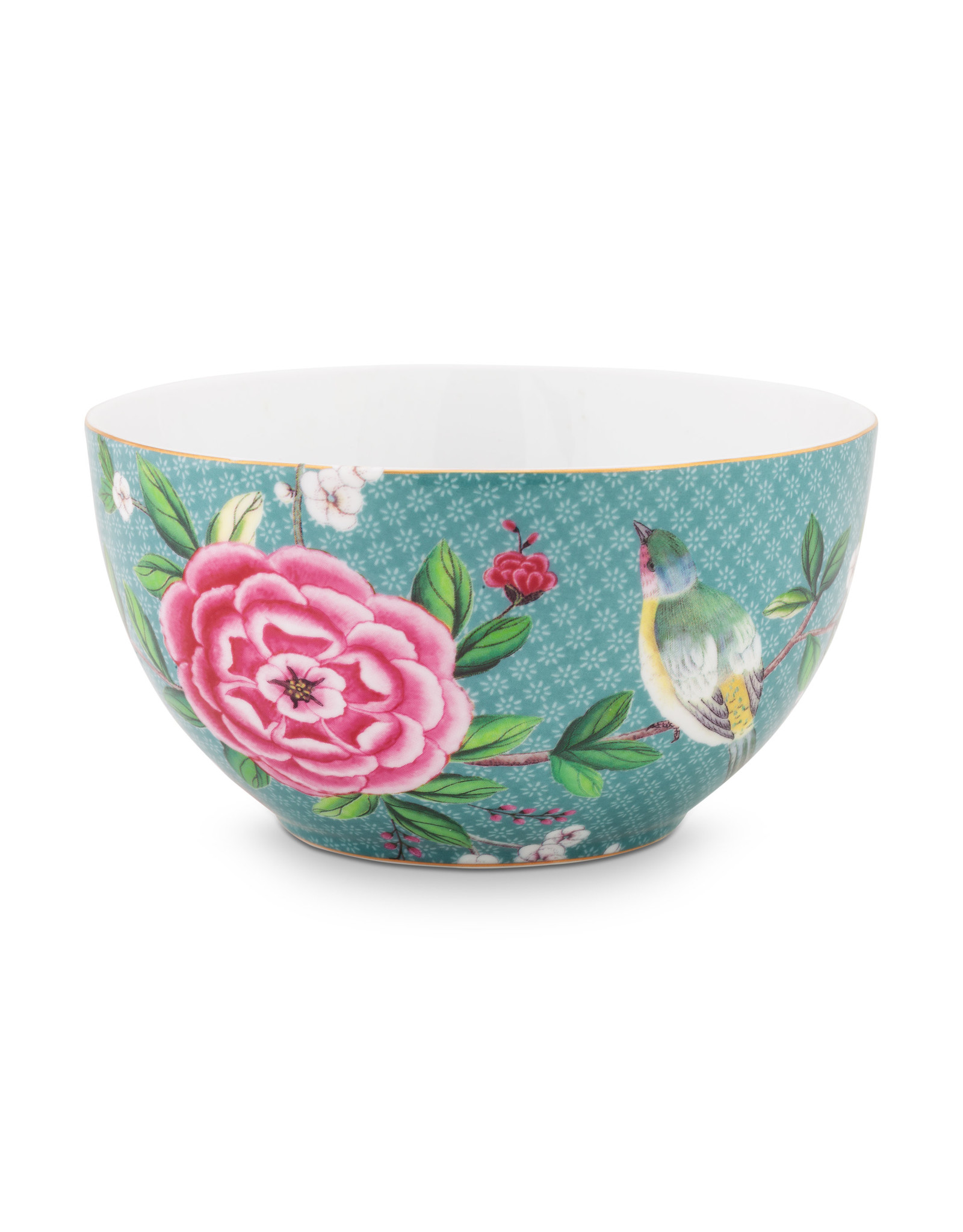 pip studio Bowl Blushing birds Blue 15cm