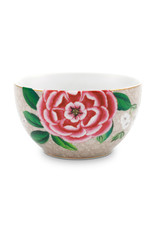 pip studio Bowl Star Flower Khaki 9.5cm