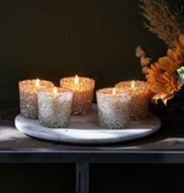 Riviera Maison Silver Sprinkle Scent. Candle 5 pcs