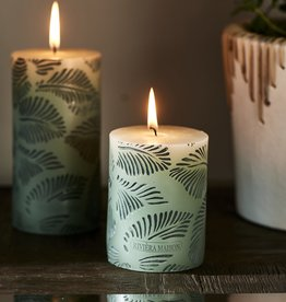 Riviera Maison Palm Leaves Candle 7 x 10
