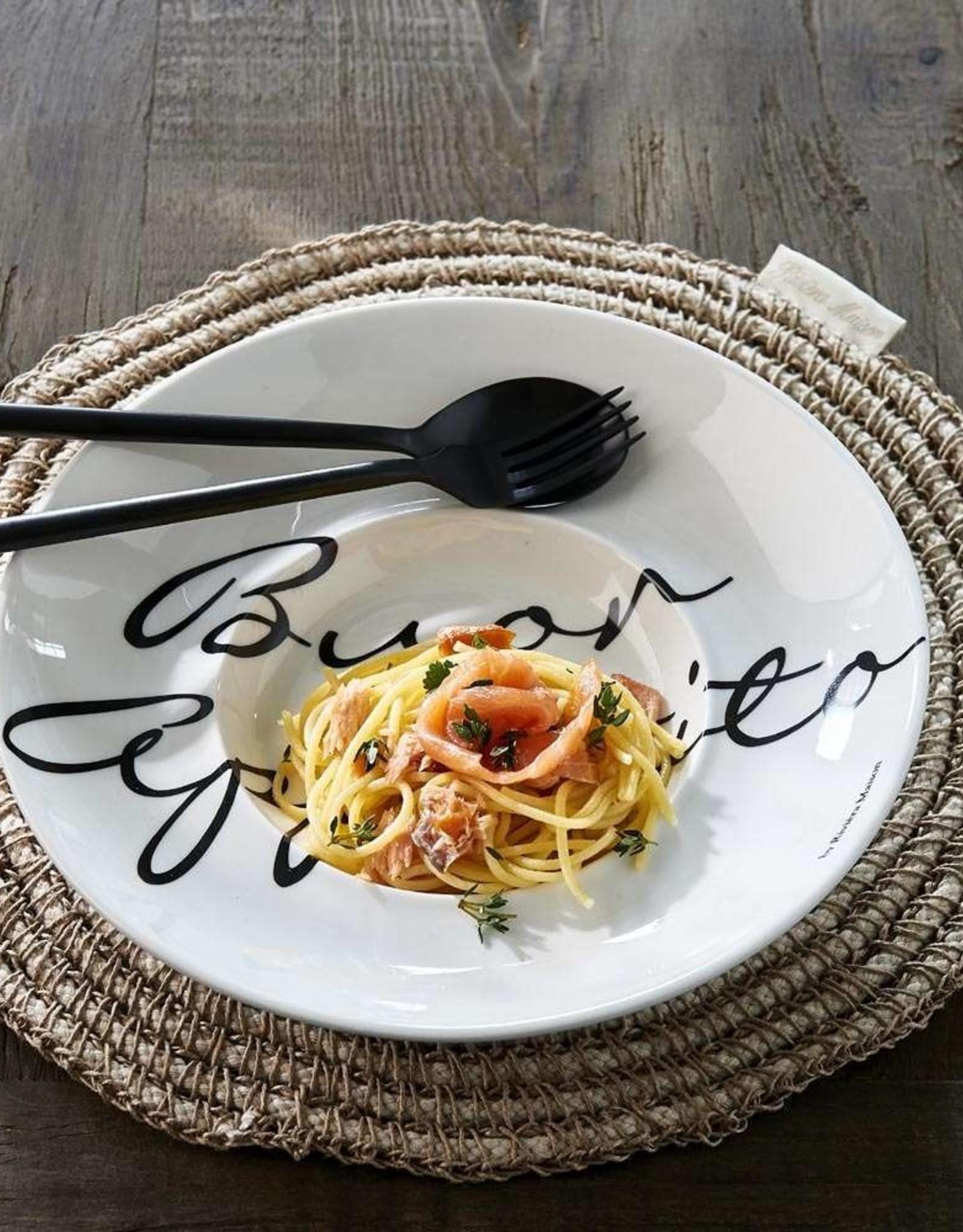 Riviera Maison Buon appetito pasta plate