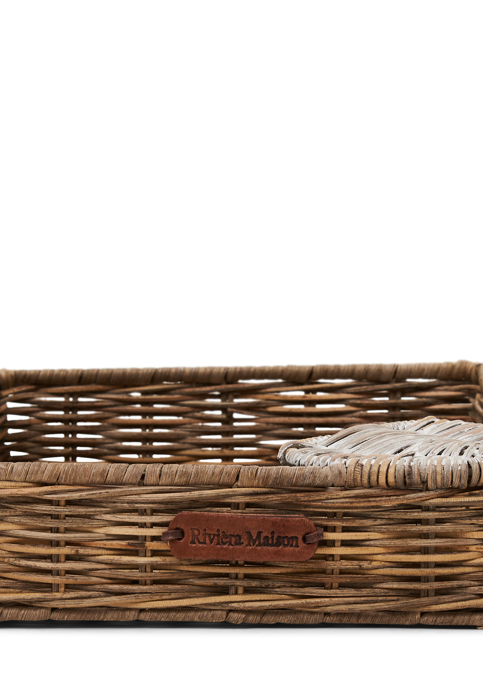 Riviera Maison Rustic rattan Heart Napkin Holder