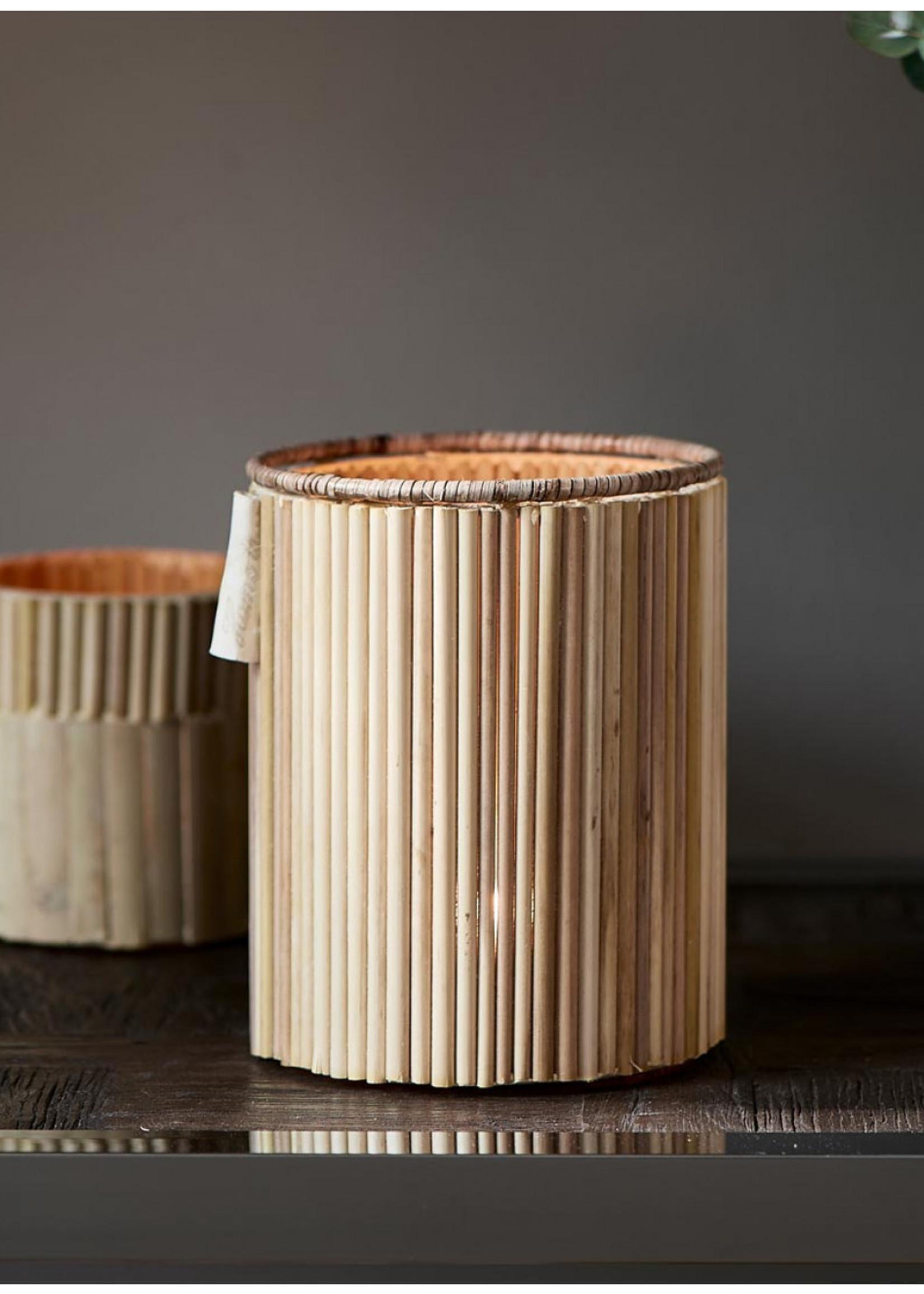 Riviera Maison Bamboo Cane Votive
