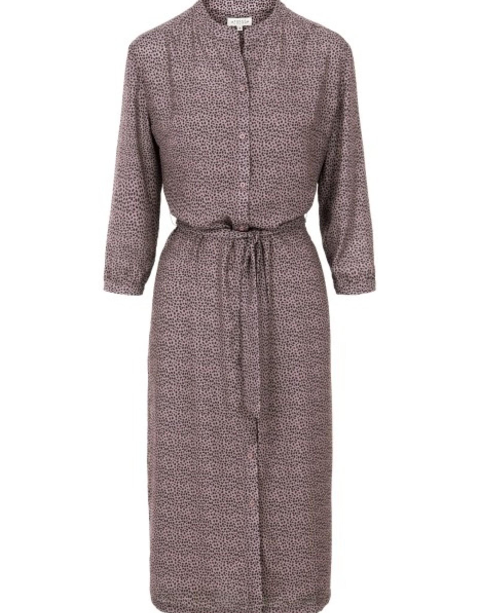 Zusss Leuke Lange jurk met print