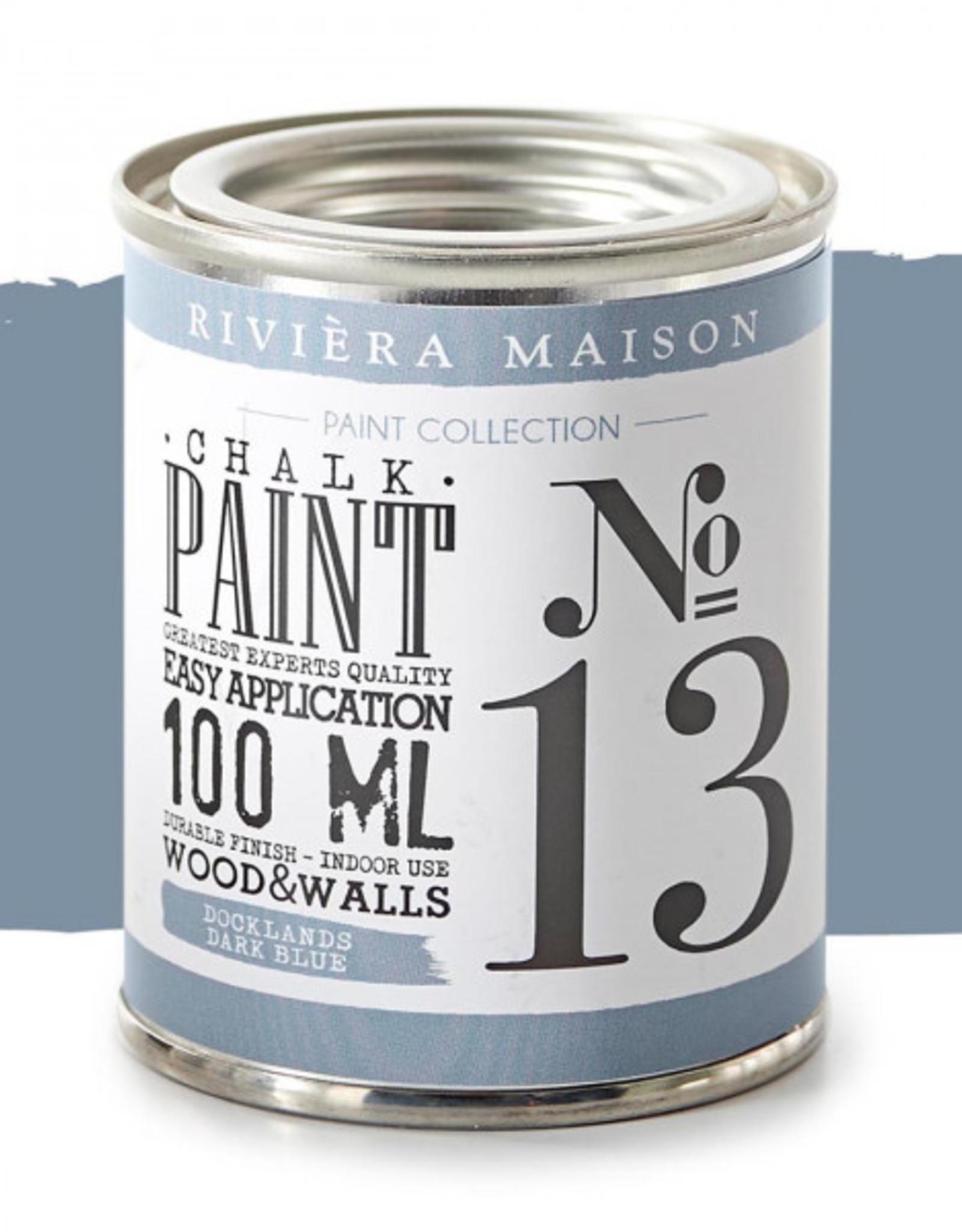 Riviera Maison RM Chalk Paint NO13 dark blue 100ML