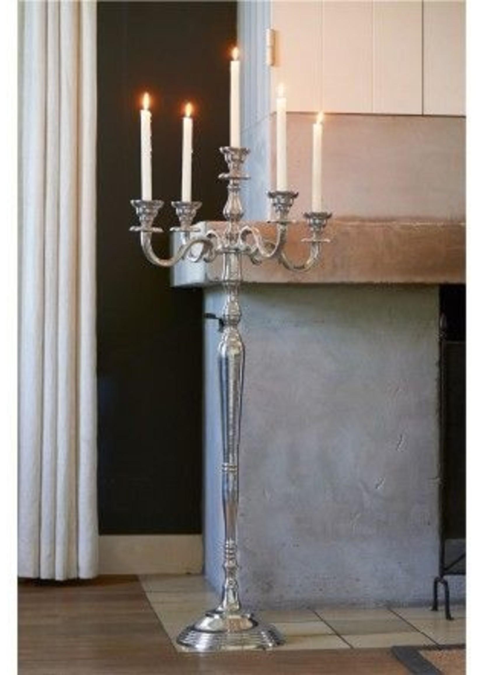 Riviera Maison Bismarck candle holder  Zilver