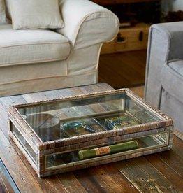 Riviera Maison Rustic Rattan French glass Box L