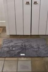 Riviera Maison Bath mat anthracite