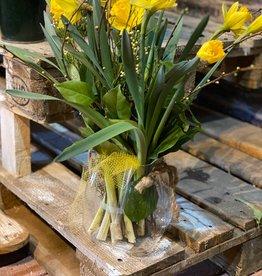 Riviera Maison Mode Florale Bag Vase M Arrangement