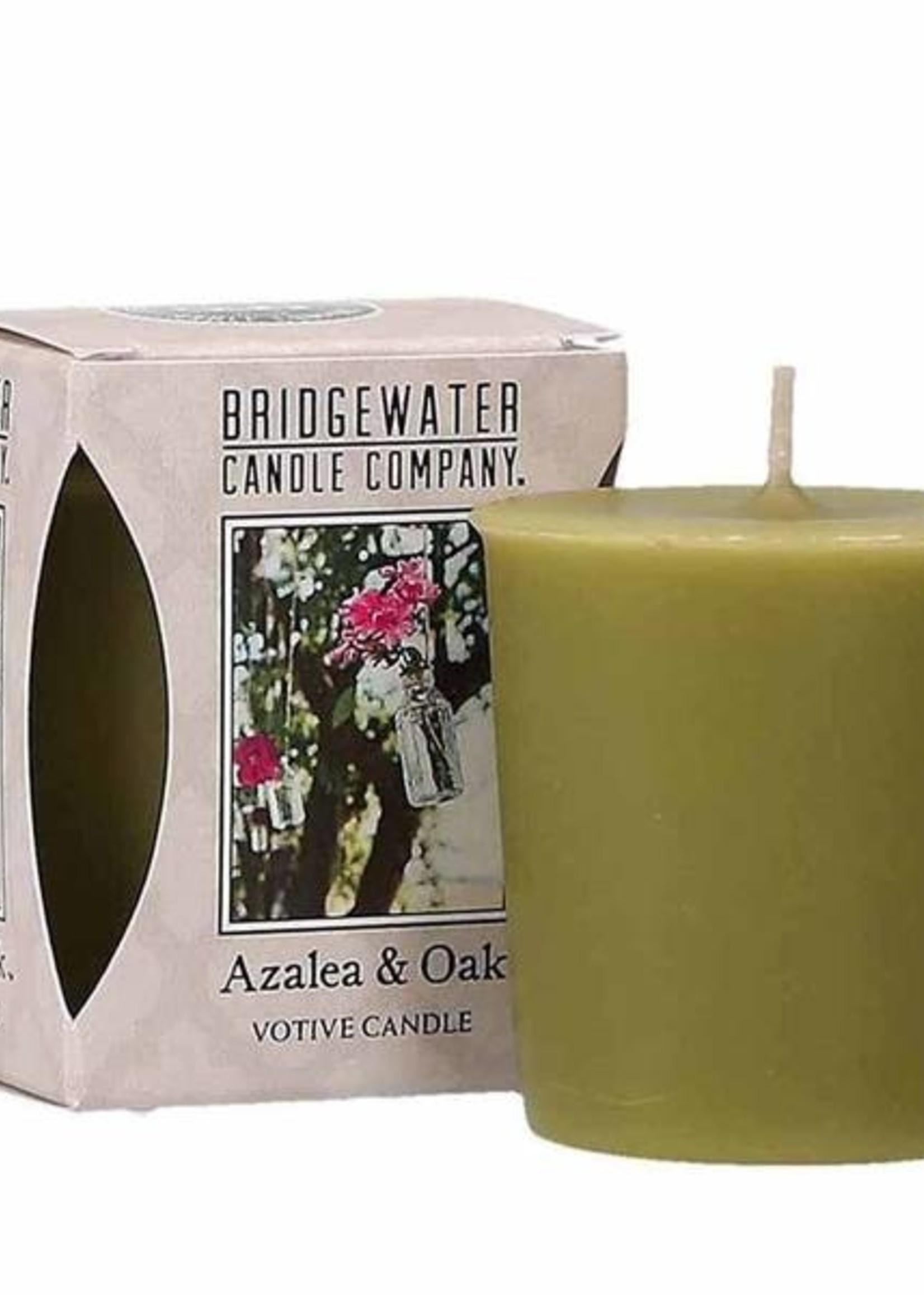 Bridgewater Votive Candle Azalea & Oak