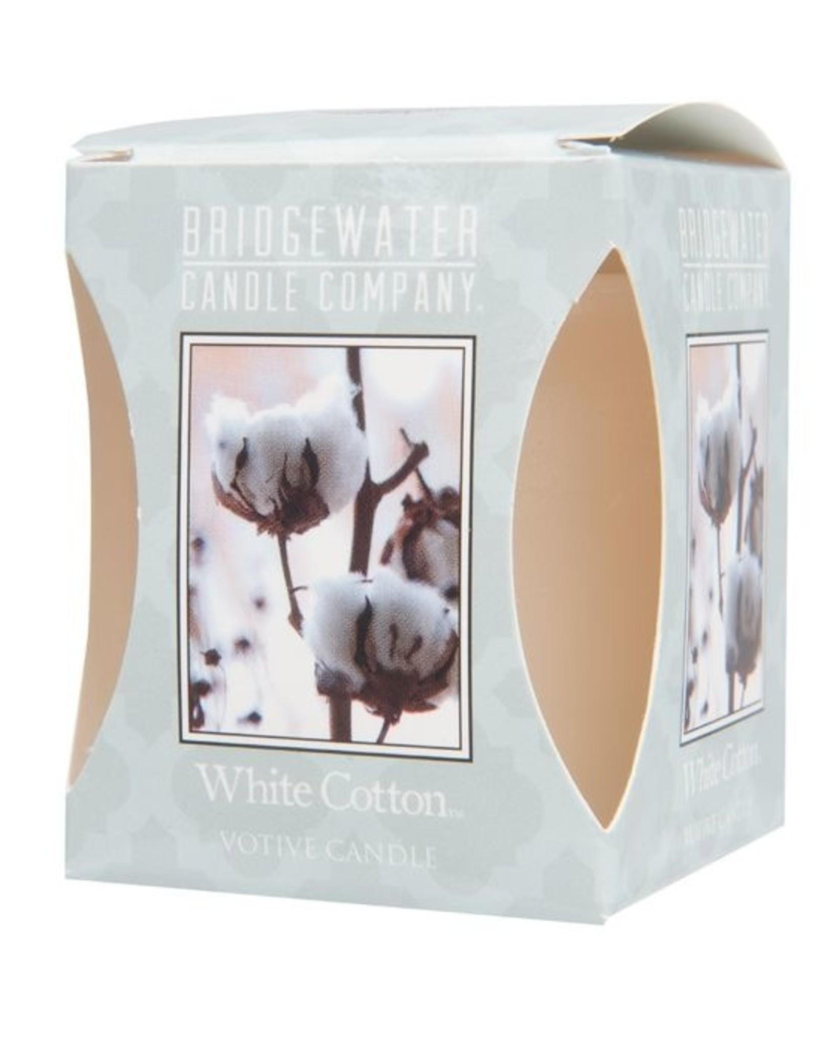 Bridgewater Votive White Cotton