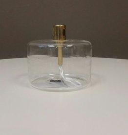 Peri Design Olielamp cylinder 8,5 x 8 cm brass