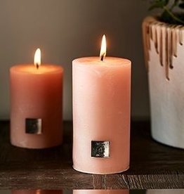 Riviera Maison Rustic Candle faded pink