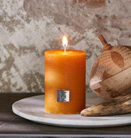 Riviera Maison Rustic candle Ocher Yellow 7 x 10